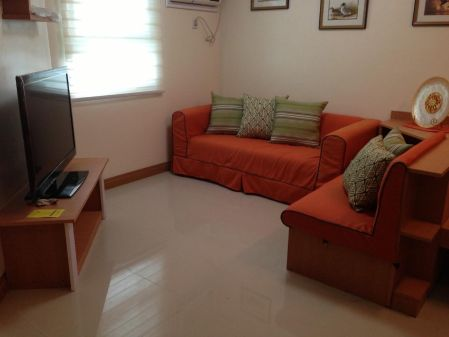 Fully Furnished 1BR Unit with Parking at Trion Tower