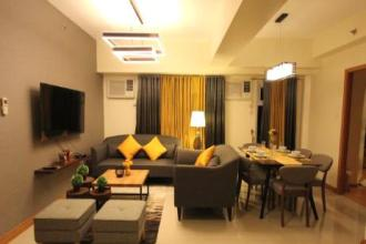 Fully Furnished 2BR Unit in Trion Tower for Rent