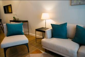 1BR Luxury Furnished with Balcony and Parking at One Maridien