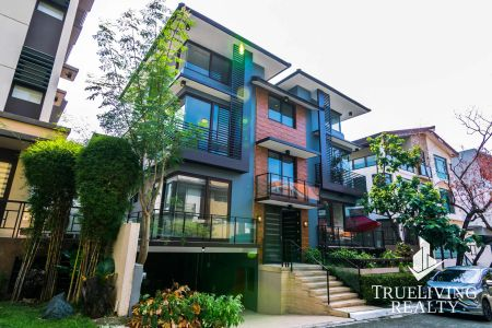 Fully Furnished 3 Storey House for Rent in McKinley Hill Village