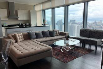 Fully Furnished 1BR for Rent in Trump Tower at Century City Makat