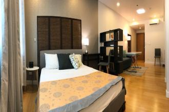 Furnished Studio for Rent in Park Terraces Greenbelt Makati
