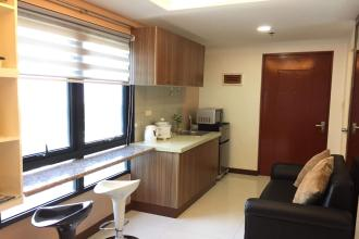 Fully Furnished Studio Unit for Rent in ADB Avenue Tower Ortigas