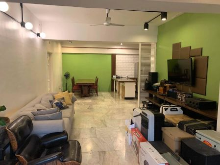 3BR Corner Unit with 2 Balconies for Rent at Makati Cinema