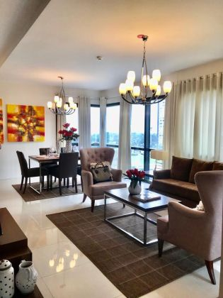 Spacious 2 Bedroom for Lease at Arya Residences BGC