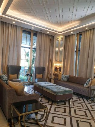 Semi Furnished 3 Bedroom Unit at St Moritz Private Estate Taguig