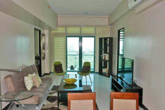 Fully Furnished 2 Bedroom facing Manila Golf Course at 8 Forbes T
