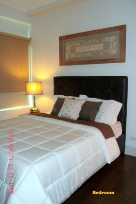 Fully Furnished 1 Bedroom Unit at Edades Tower for Rent