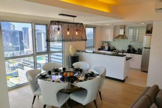 Fully Furnished 2 Bedroom Unit at One Serendra for Rent