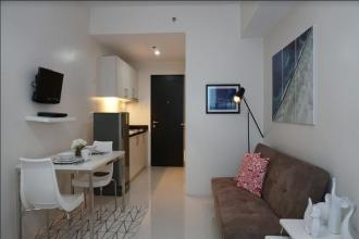 Fully Furnished Studio for Rent in Princeton Residences QC