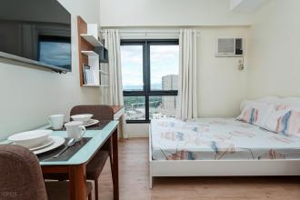 Fully Furnished Studio for Rent in Vinia Residences EDSA QC