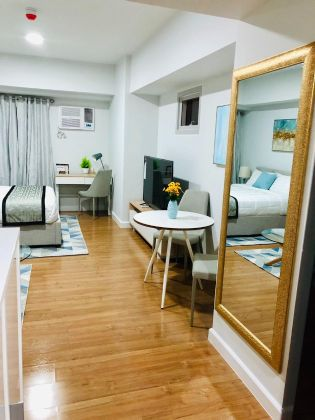 Fully Furnished Studio for Rent in Two Maridien Taguig