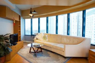 Fully Furnished 2 Bedroom in One Rockwell