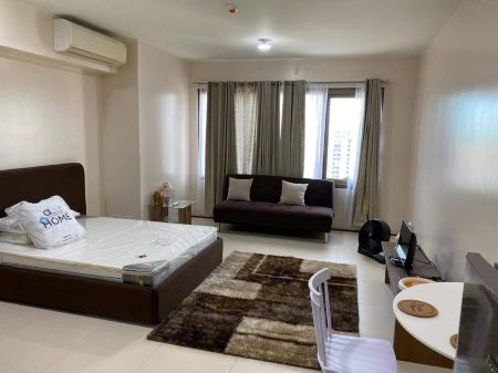 Fully Furnished Studio Unit at The Viridian in Greenhills