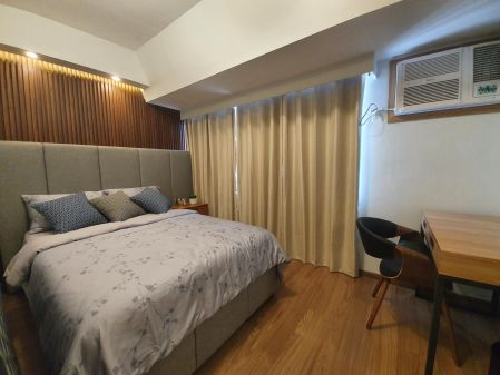 Fully Furnished 1 Bedroom Unit at The Rise Makati for Rent