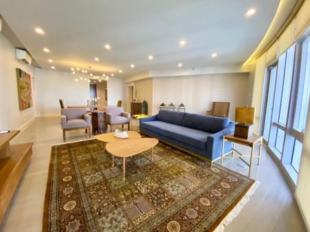 3BR Fully Furnished with Parking and Balcony at Proscenium Kirov