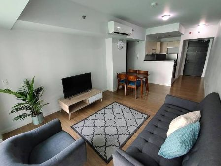 For Rent Fully furnished 2BR unit with Balcony in Solstice Tower