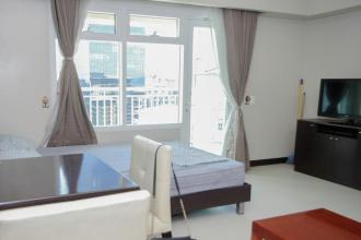 Fully Furnished Studio Type Condo for Rent at Two Serendra