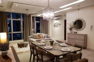 Fully Furnished 3 Bedroom Unit at Blue Sapphire Residences