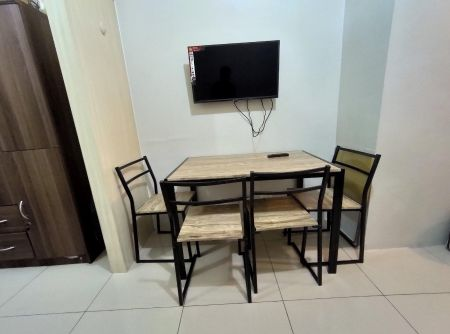 1BR Semi Furnished Unit with Balcony and Nice View