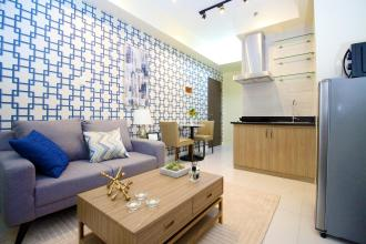 1BR Fully Furnished with Optional Parking for Rent in Ortigas