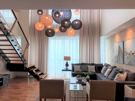 Fully Furnished 3 Bedroom Unit at The Residences At Greenbelt