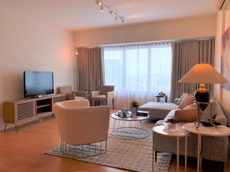 Fully Furnished 3 Bedroom Unit at One Rockwell for Rent