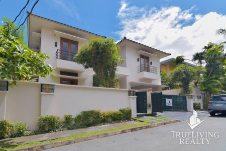 Unfurnished 5BR House For Rent In Bel Air Village Makati