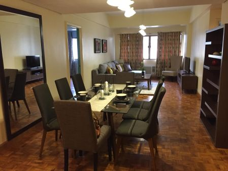 Fully Furnished 3 Bedroom Unit at Renaissance Condominium