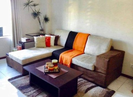 Fully Furnished Studio Corner Unit with Parking in Two Serendra