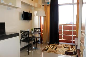 Furnished Studio Unit with Balcony for Rent at RSG SS Residens